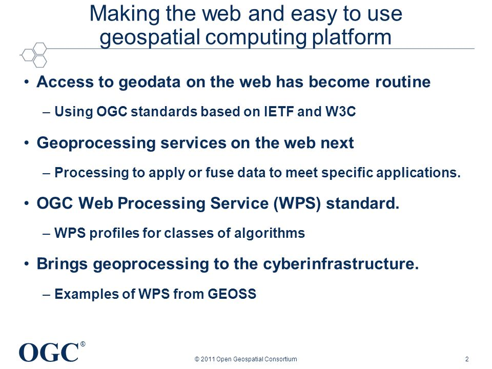 Making the web and easy to use geospatial computing platform