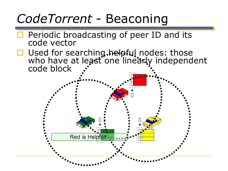 CodeTorrent - Beaconing
