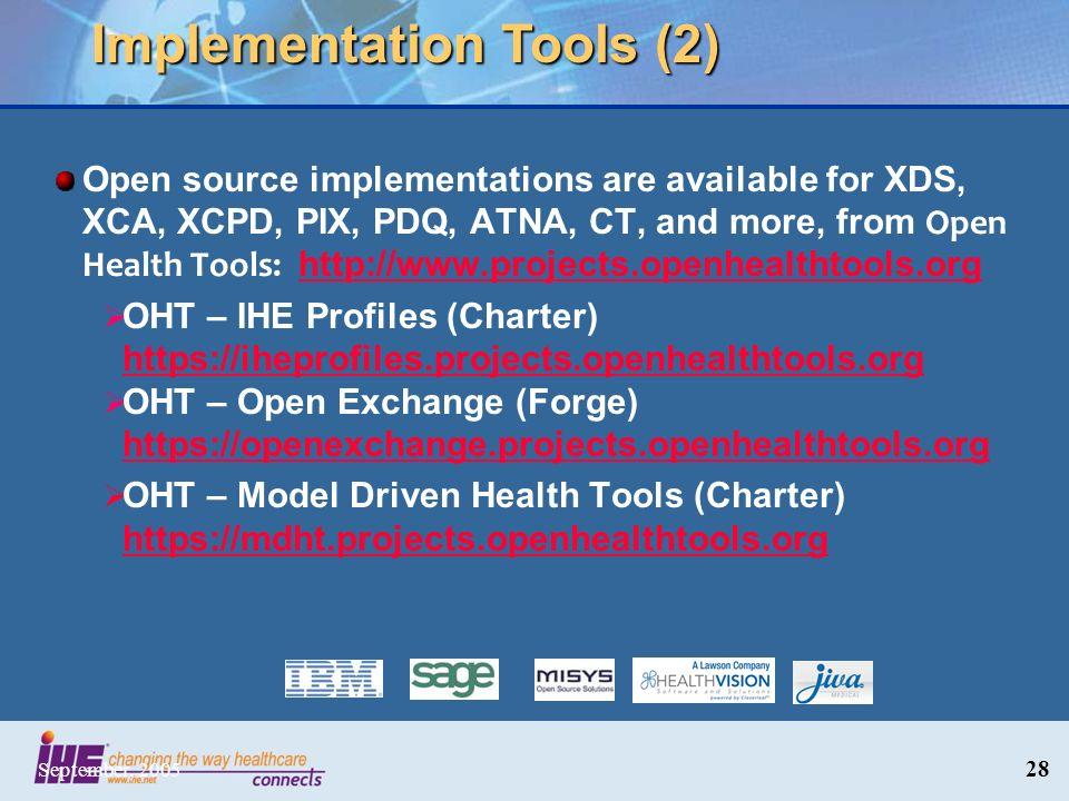 Implementation Tools (2)