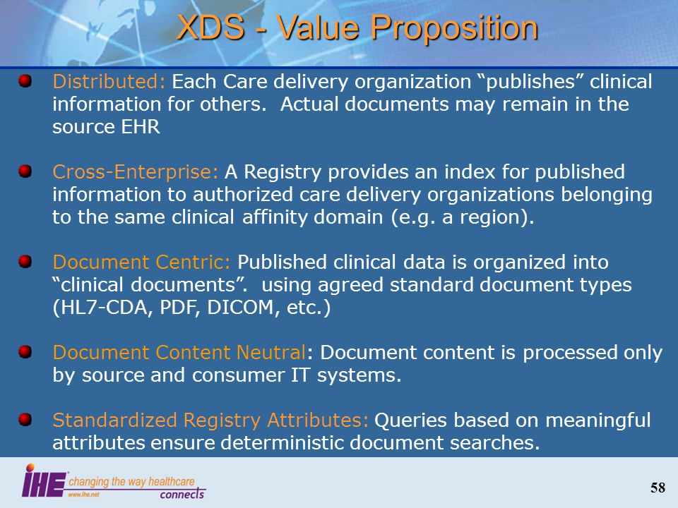 XDS - Value Proposition