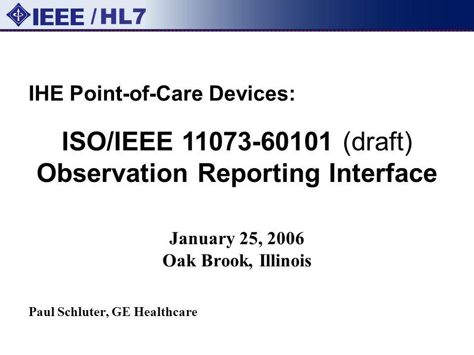 January 25, 2006 Oak Brook, Illinois