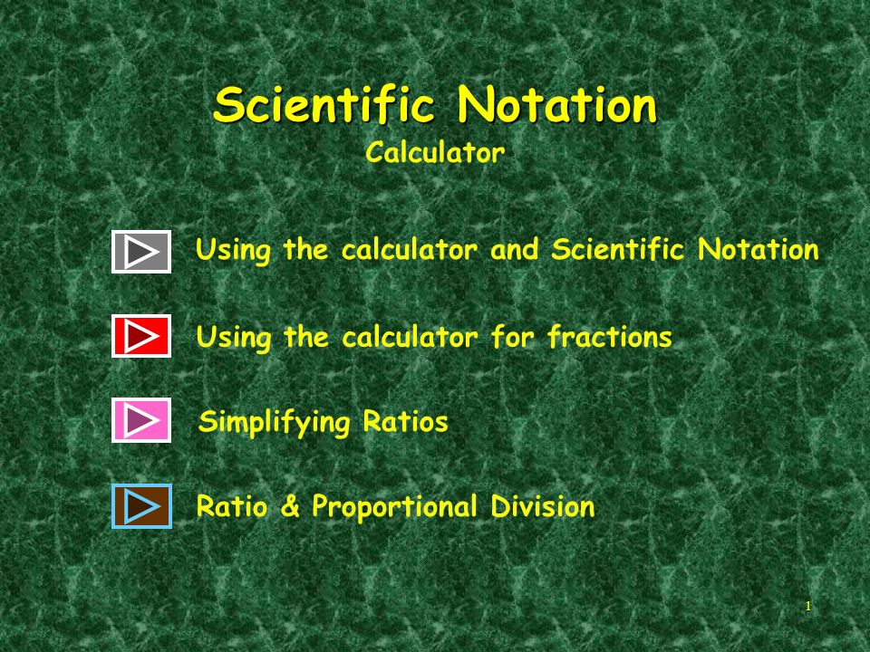 Scientific Notation Calculator - ppt download