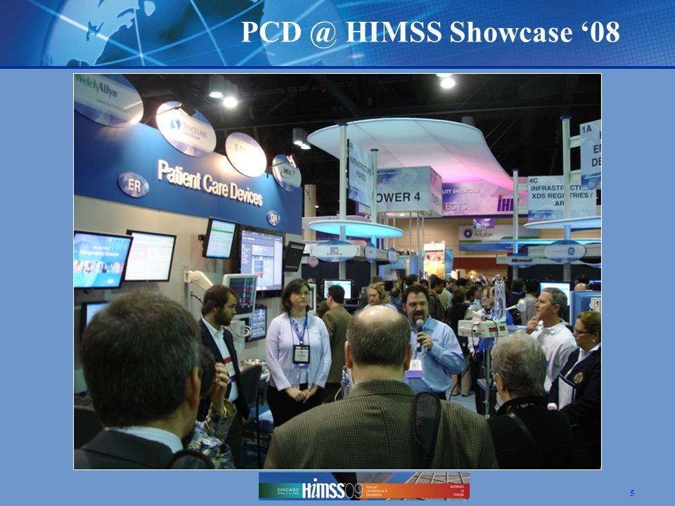PCD @ HIMSS Showcase '08 5