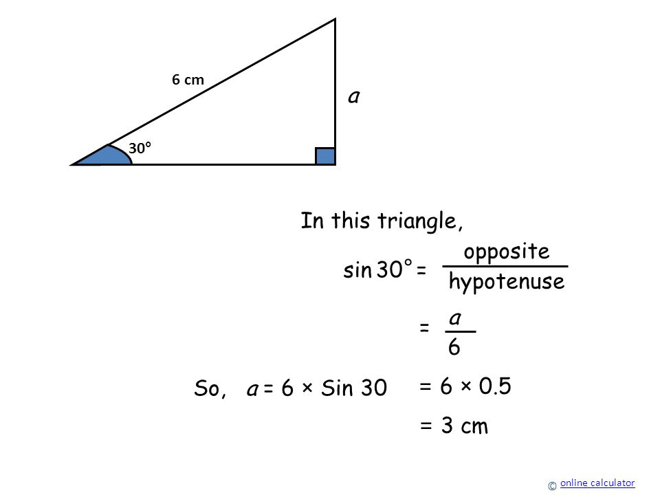 how to find the length of x in a triangle