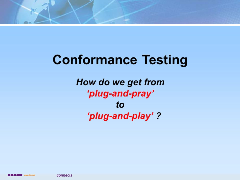 How do we get from 'plug-and-pray' to 'plug-and-play'