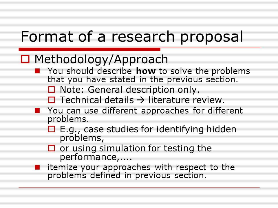 Research methodology and different research approaches