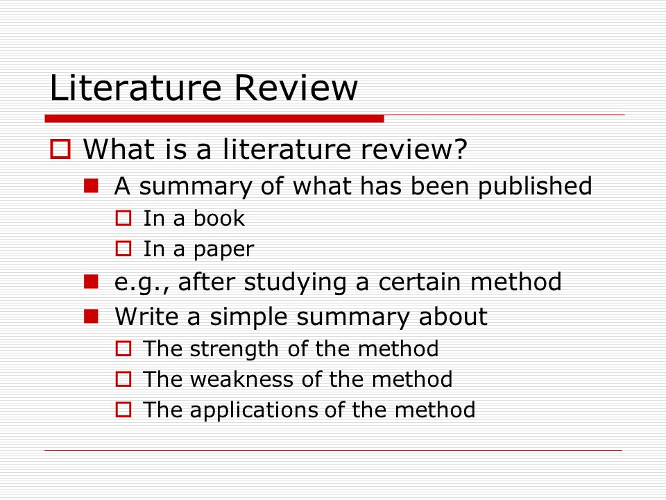 a method for writing essays about literature