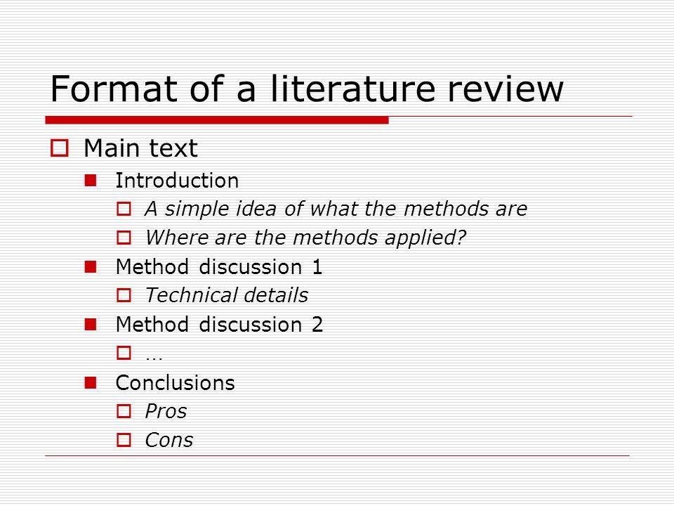 literature review dissertation introduction