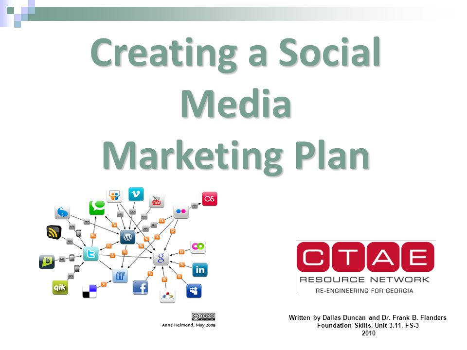 Social Media Marketing Plan | Creating A Social Media Marketing Plan Ppt Video Online Download