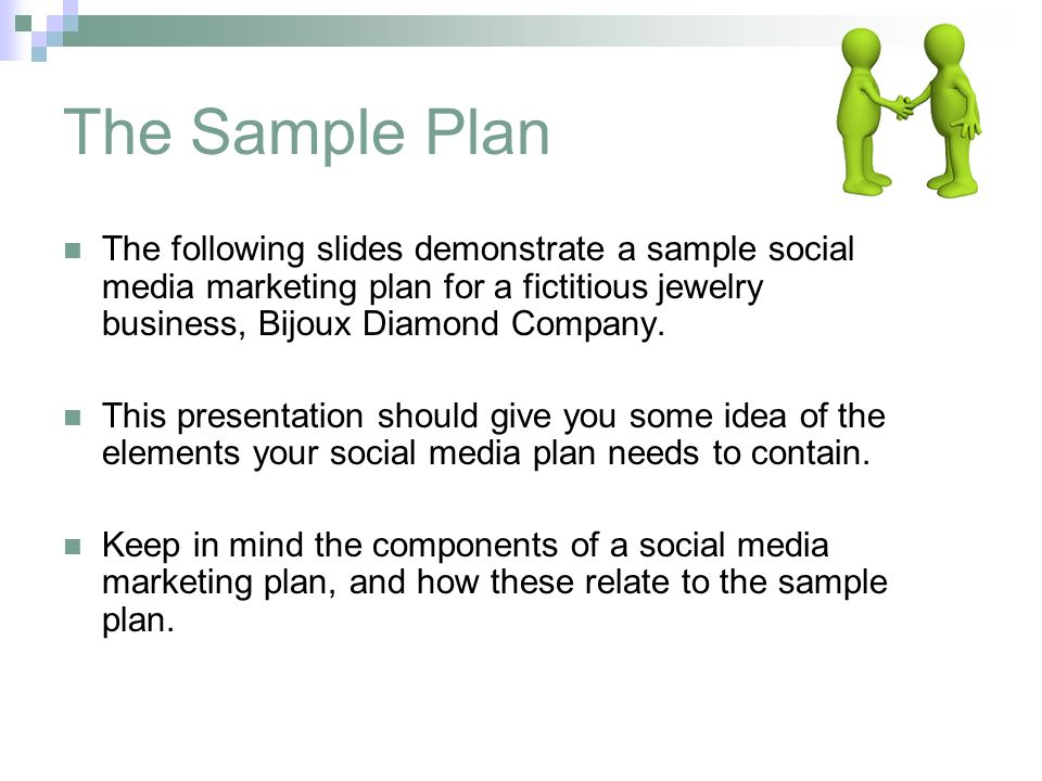A Sample Online Jewelry Store Business Plan Template