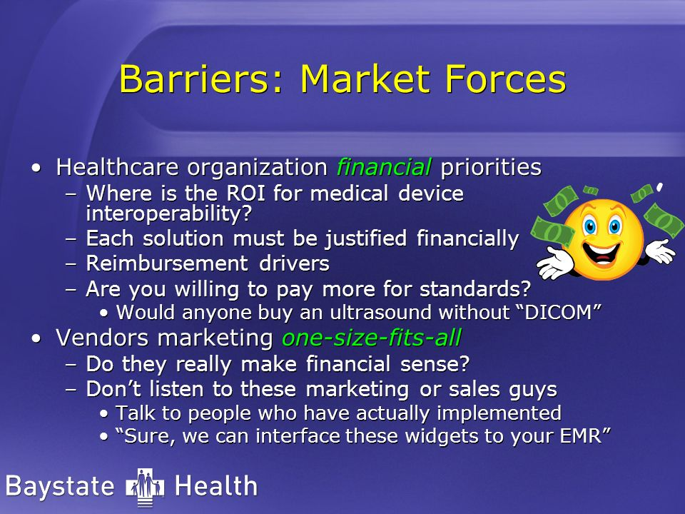 Barriers: Market Forces