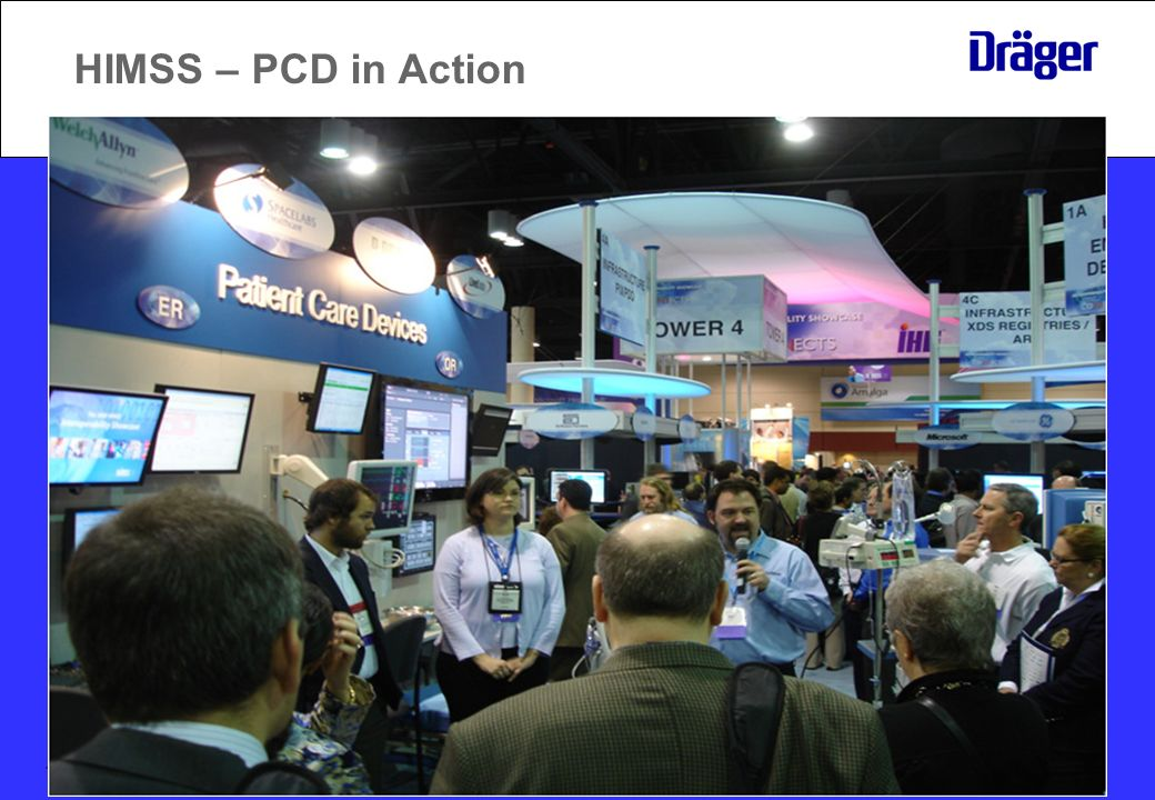 HIMSS – PCD in Action January 2010 13
