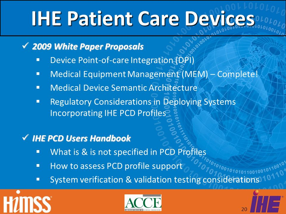 IHE Patient Care Devices