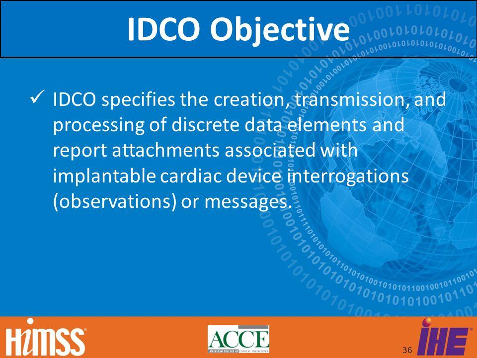 IDCO Objective