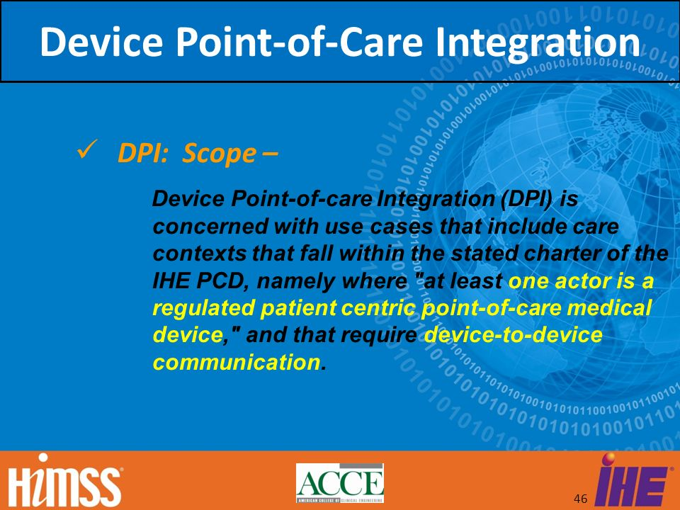 Device Point-of-Care Integration