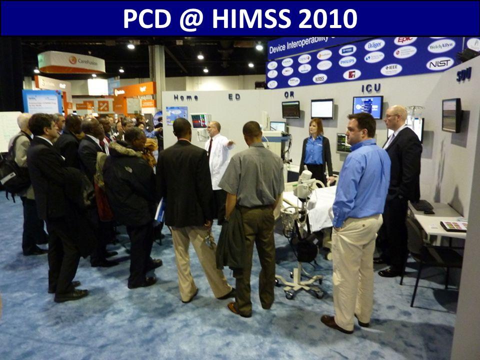 PCD @ HIMSS 2010