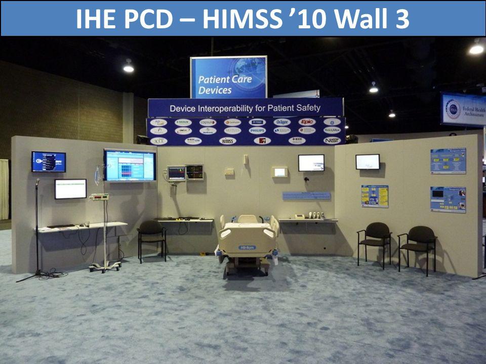 IHE PCD – HIMSS '10 Wall 3 74