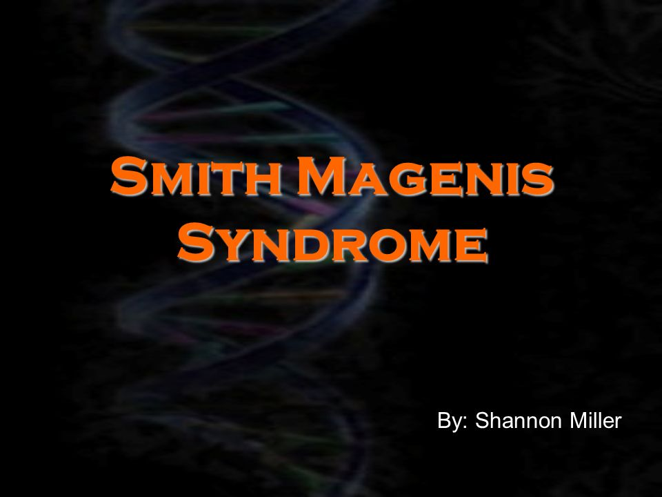 smith magensis syndrome Smith-magenis syndrome disease definition smith-magenis syndrome (sms) is  a complex genetic disorder characterized by variable intellectual deficit, sleep.