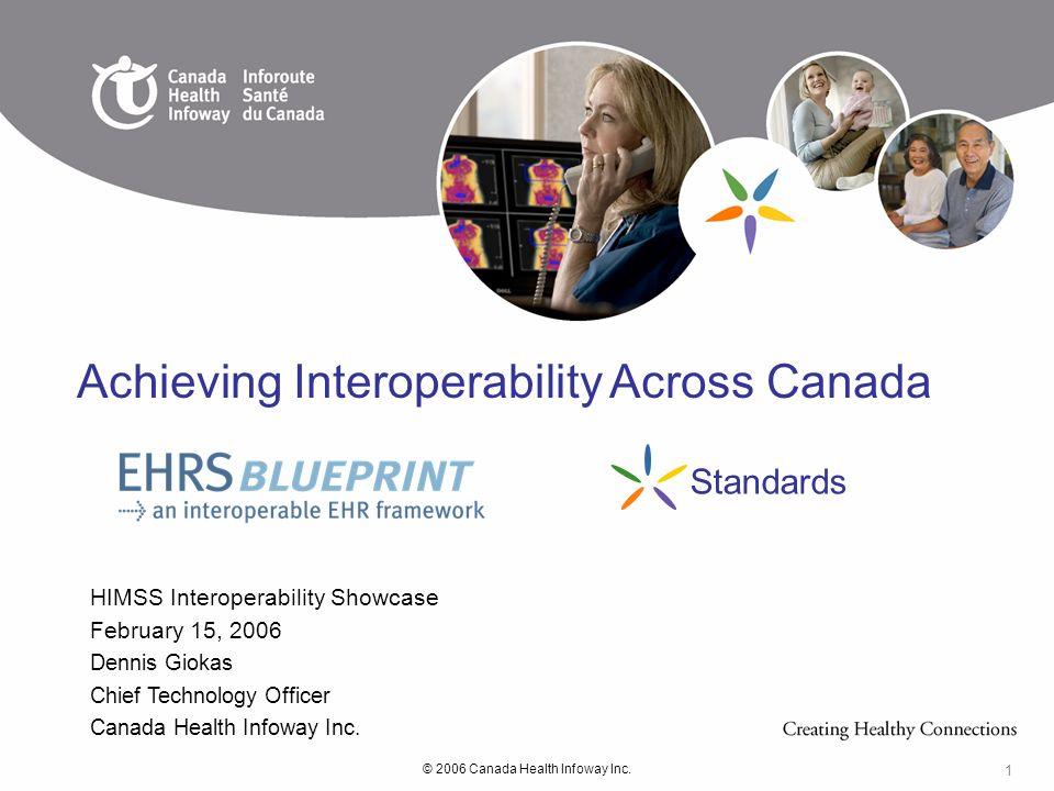 Achieving Interoperability Across Canada