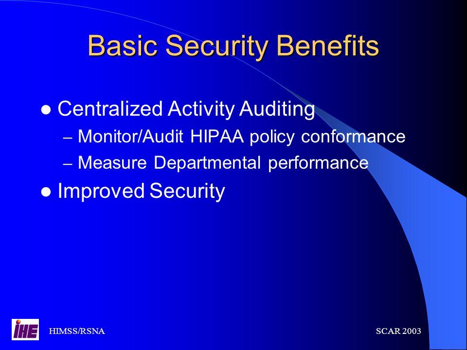 Basic Security Benefits