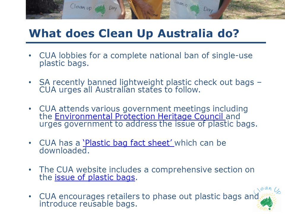 What does Clean Up Australia do
