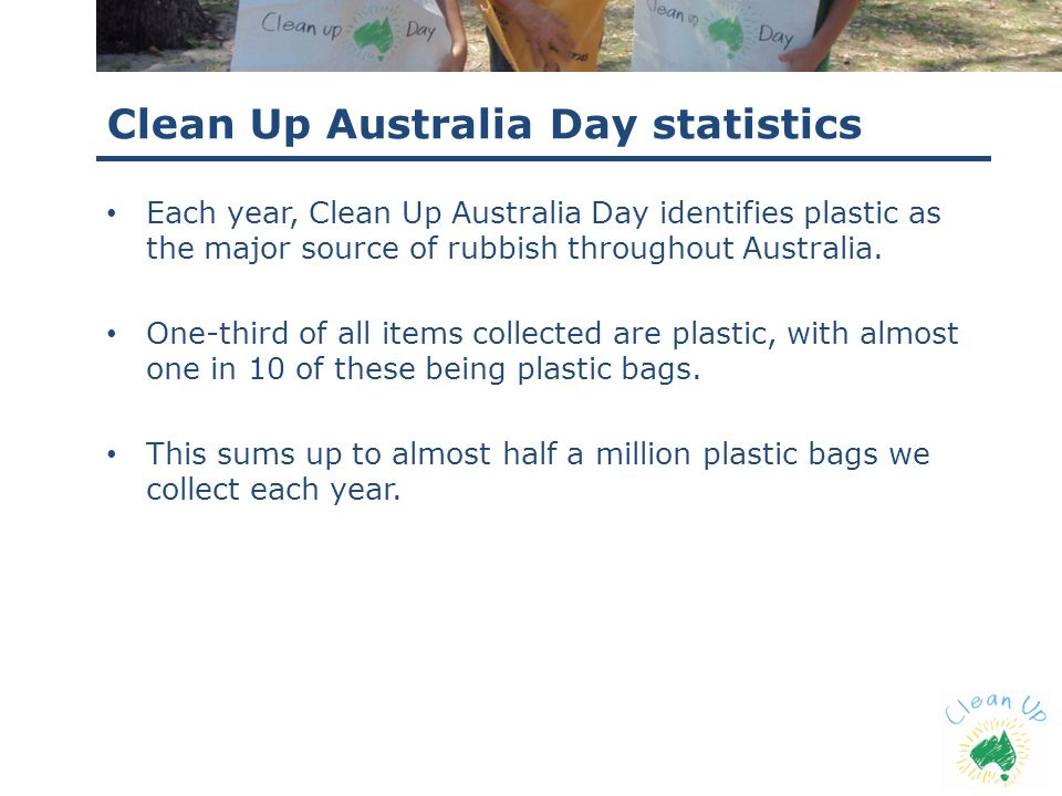 Clean Up Australia Day statistics