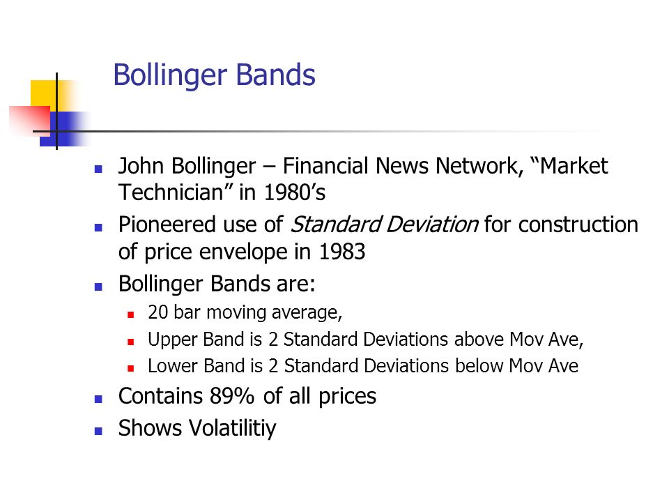 Bollinger bands ppt