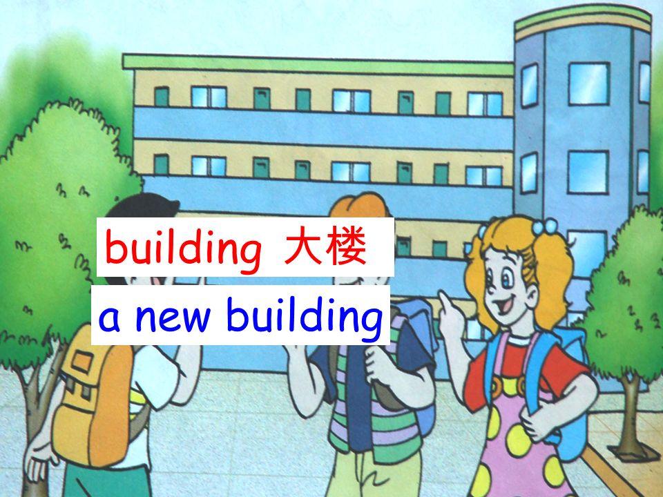 building 大楼 a new building