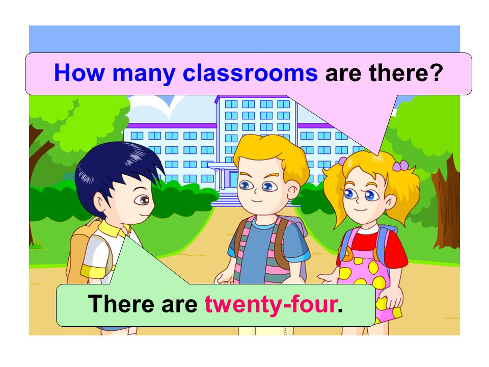 How many classrooms are there