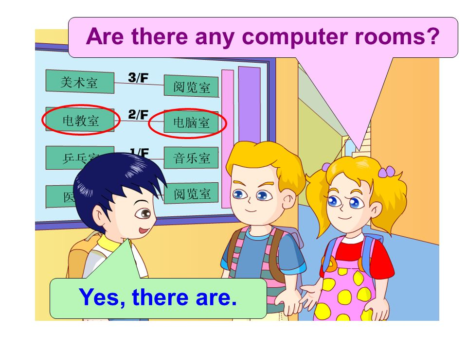 Are there any computer rooms