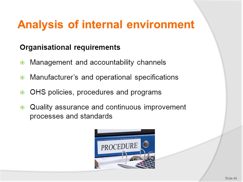 analysis of internal service quality A small business owner often thinks about strengths as the quality of his product or service  why is an internal analysis important.