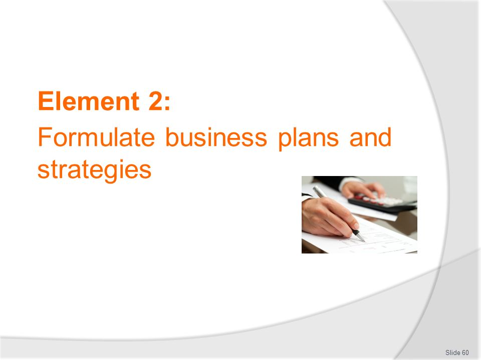How to formulate business plan