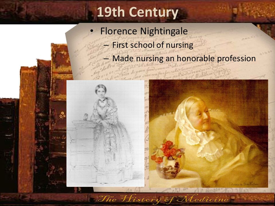 florence nightingale nursing theoretical works essay This is just a second year paper on a chosen nursing theory and its i selected florence nightingale's environmental the nightingale school of nursing.