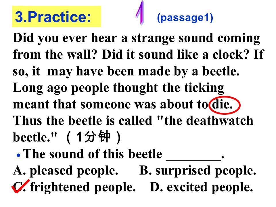 1 3.Practice: (passage1)