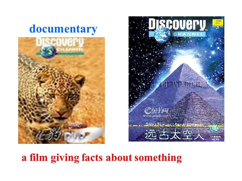 documentary a film giving facts about something