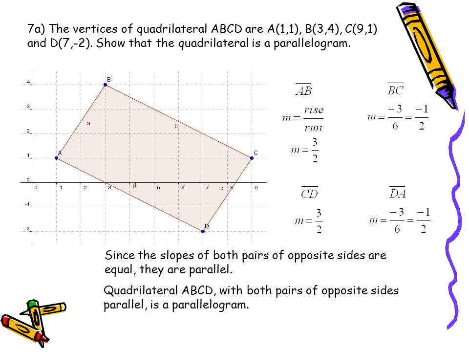 1 given triangle abc with vertices a00 b48 and c62 7a the vertices of quadrilateral abcd are a11 b ccuart Images