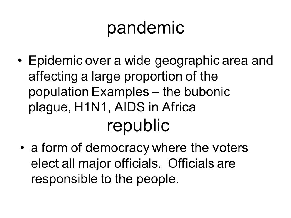 the bubonic plague vs aids epidemic Bubonic plague: historical epidemiology and the medical  aids epidemic in africa over 30 million people worldwide have been infected with the hiv-aids virus with .