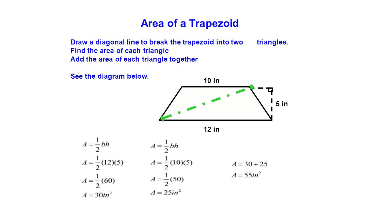 How To Find Area For Trapezoid Solution For How To For Dummies