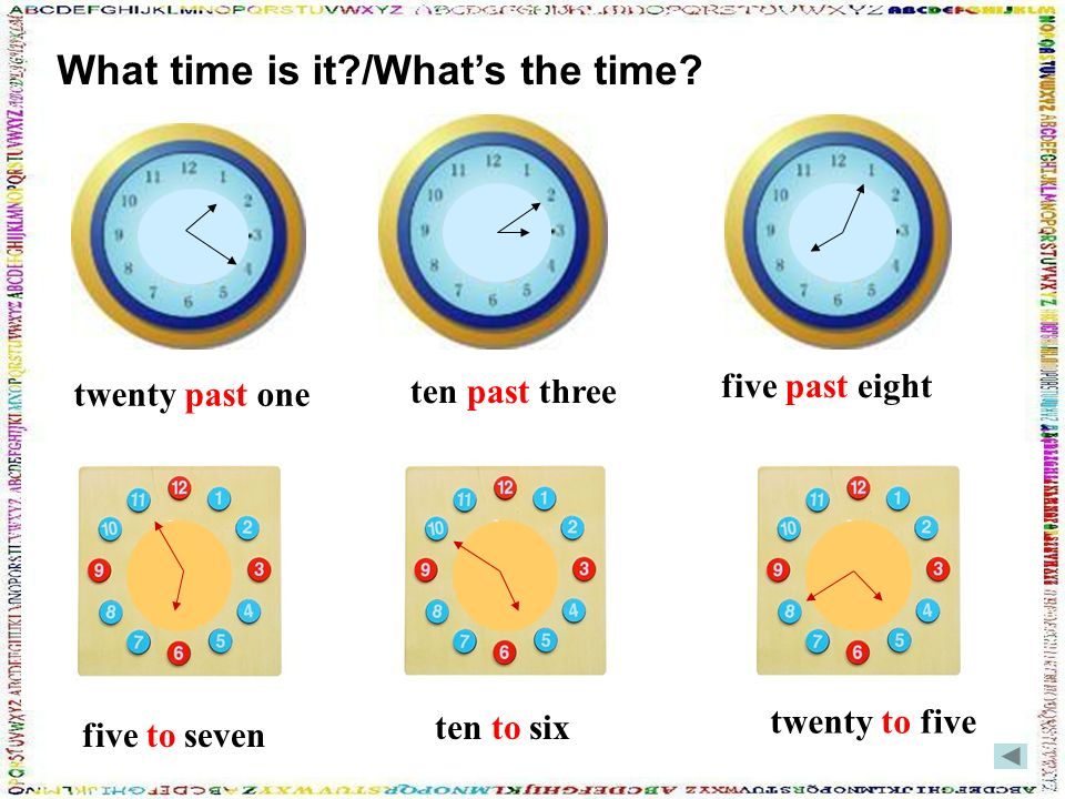 What time is it /What's the time