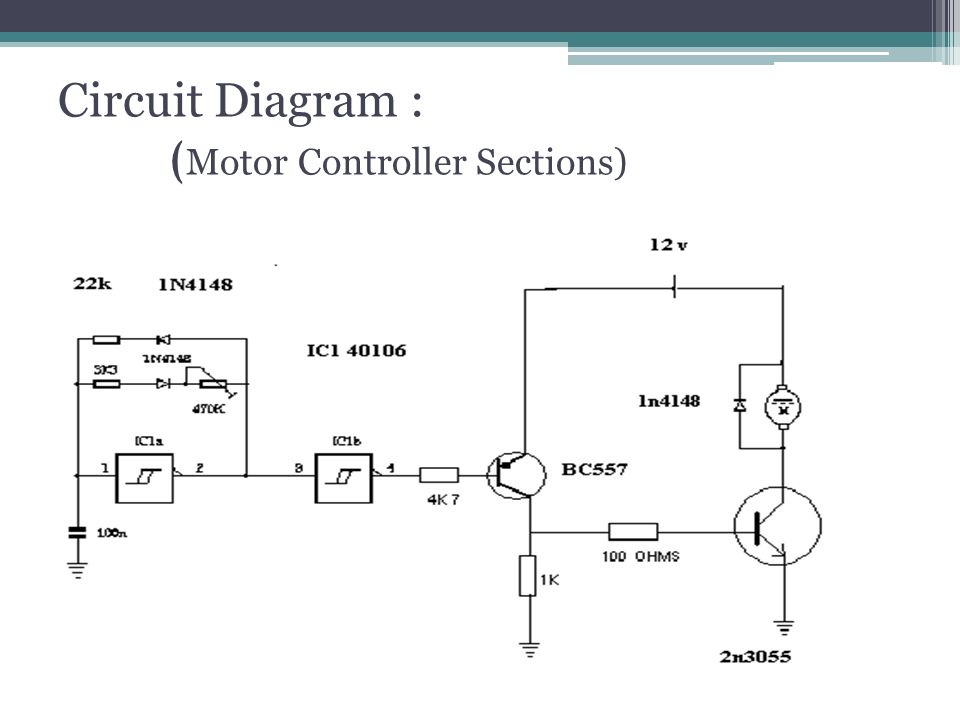 Circuit+Diagram+%3A+%28Motor+Controller+Sections%29 traction motor control and applications ppt video online download