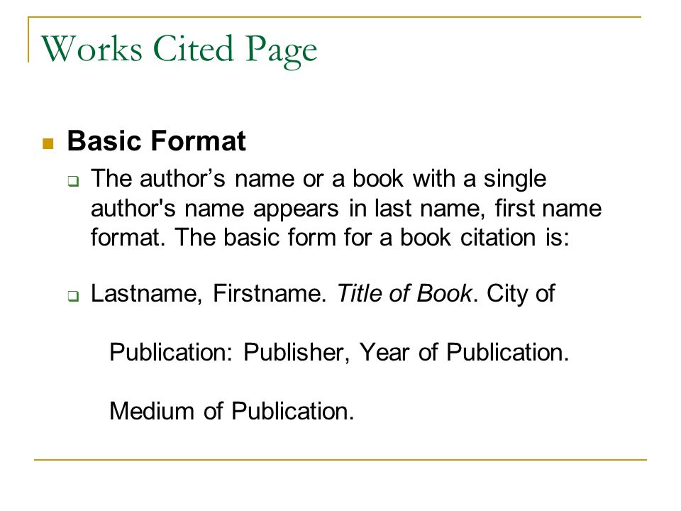 works cited page mla format Use cite this for me's free mla format citation generator to get accurate mla citations in seconds how do i format my mla works cited page.