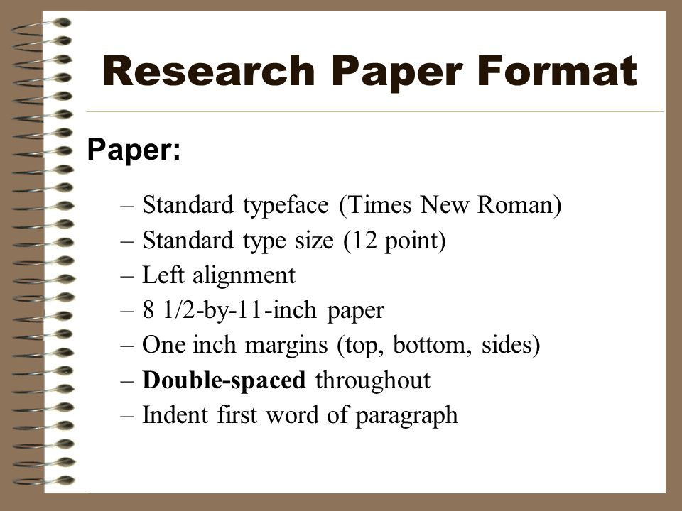 proper format of research papers Apa paper formatting & style guidelines your teacher may want you to format your paper then list your keywords that stand out in your research sample abstract.