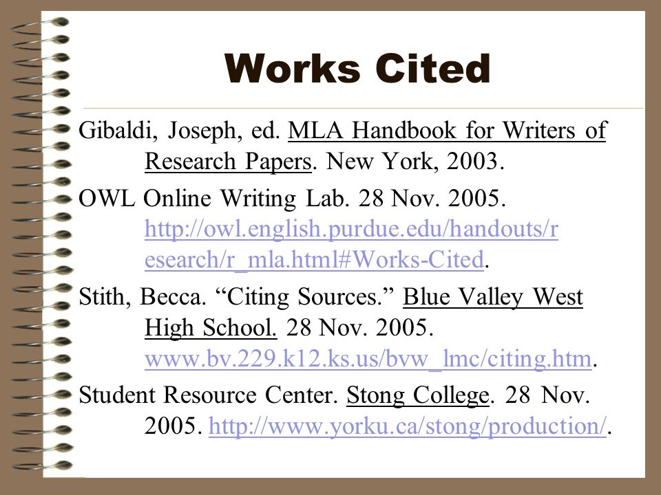 mla handbook for writing research papers This website provides guidelines to using mla format for your academic papers all guides are up-to-date with the latest mla handbook 7th edition.