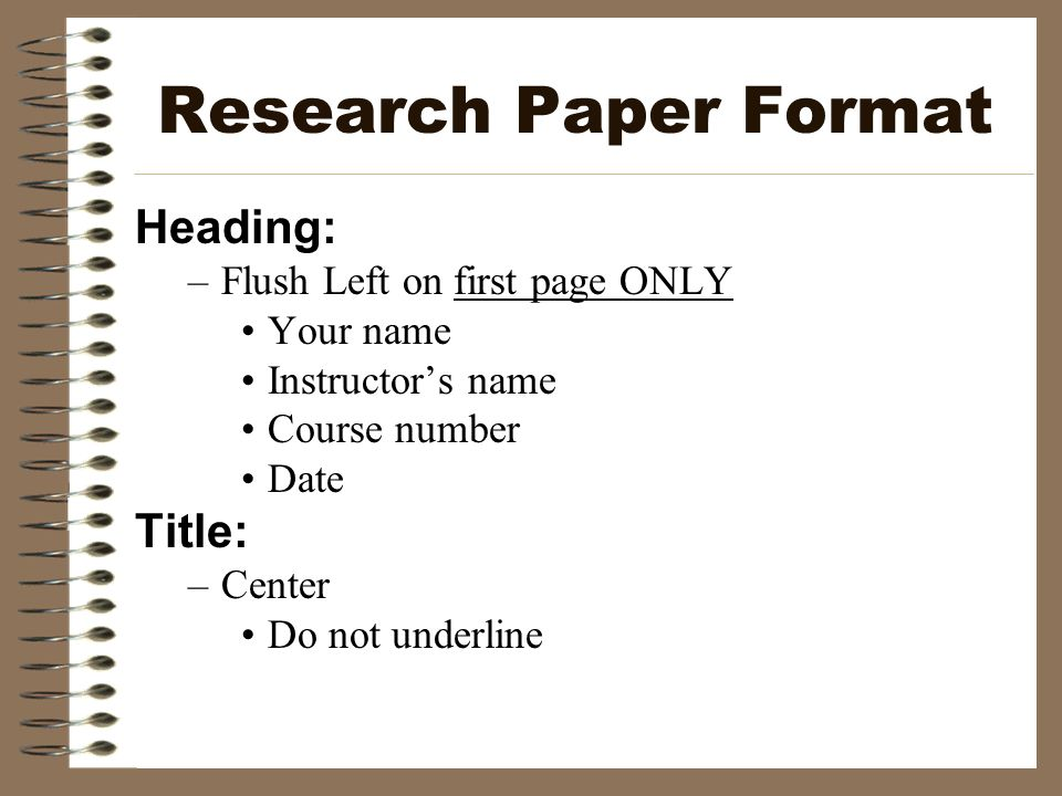 mla research paper format headings How to format essays using mla style add headings in your paper with this format: level 1 heading: research paper mla format.
