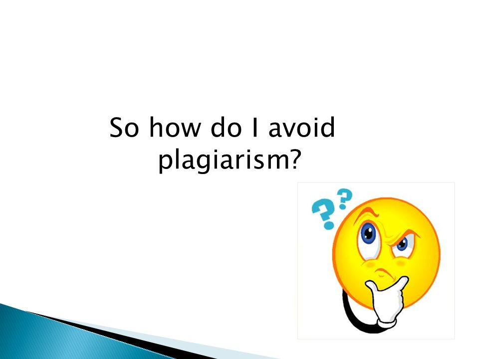 plagiarism and how to avoid it video