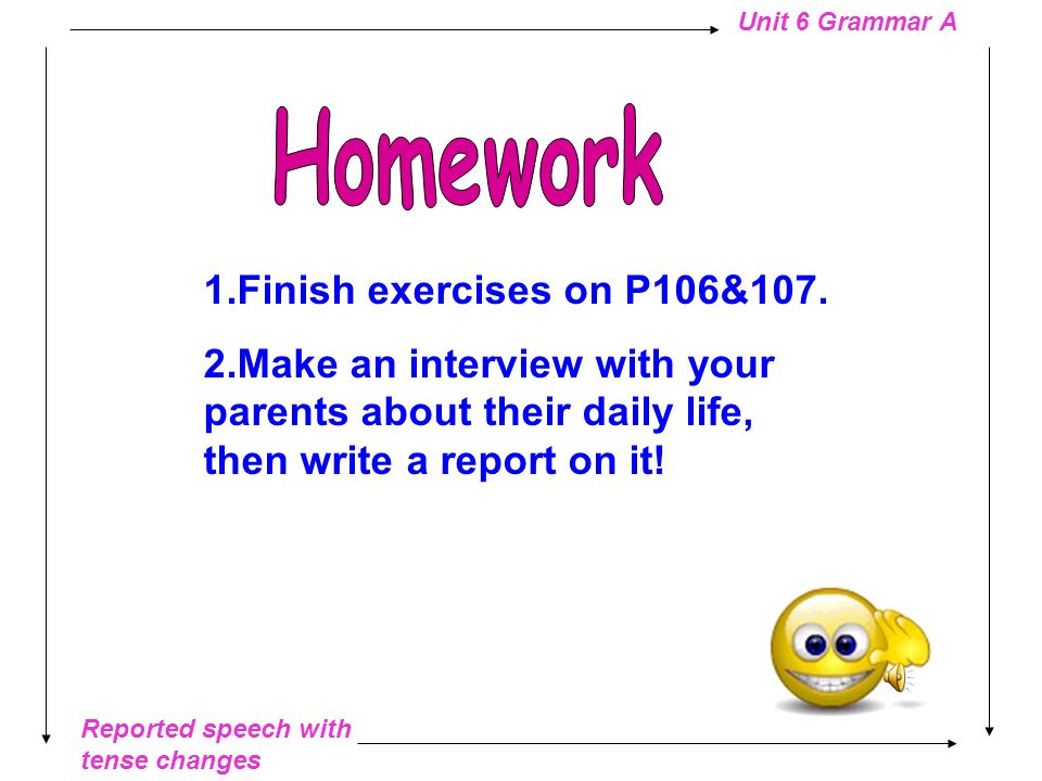 Homework 1.Finish exercises on P106&107.