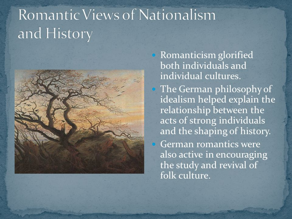relationship between romanticism and nationalism
