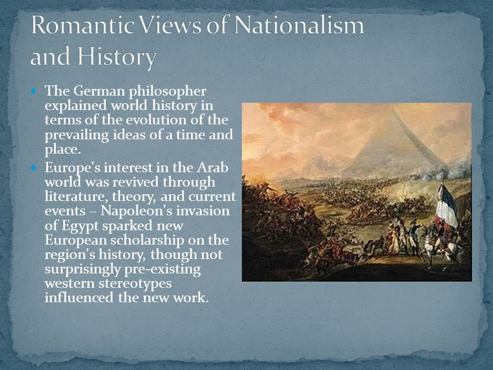 german romanticism and nationalism relationship