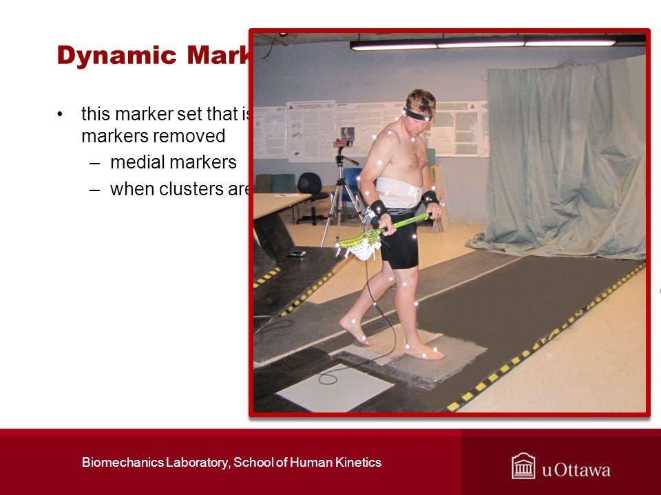 Biomechanics Laboratory, School of Human Kinetics