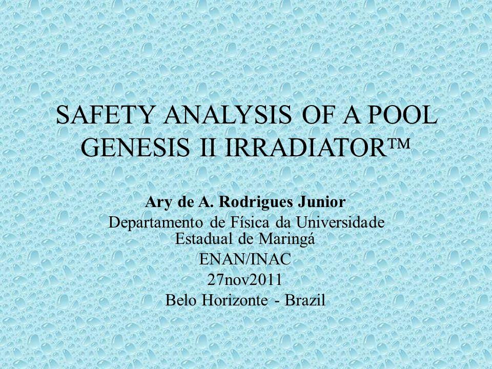 Safety analYsIs of a pool Genesis II irradiator